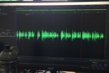 Editing a podcast episode